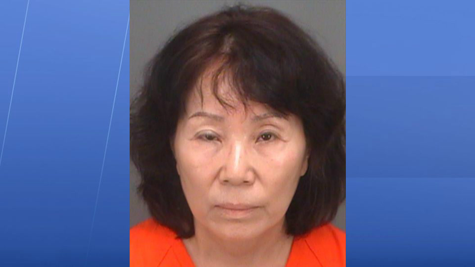 Florida woman accused of urinating in ice cream machine